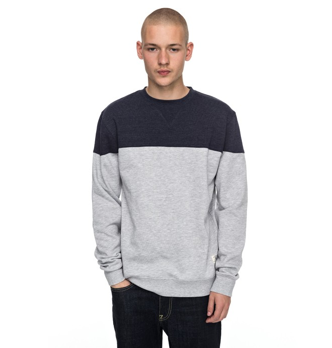 0 Rebel Block Sweatshirt  EDYFT03315 DC Shoes