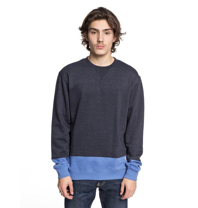 0 Men's Rebel Block Sweatshirt  EDYFT03345 DC Shoes