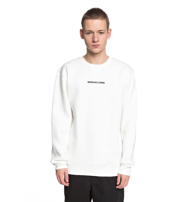 0 Craigburn - Sweater White EDYFT03347 DC Shoes