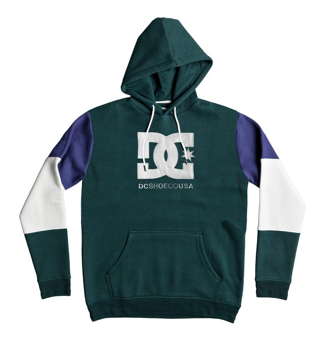 0 Doney Hoodie Green EDYFT03352 DC Shoes