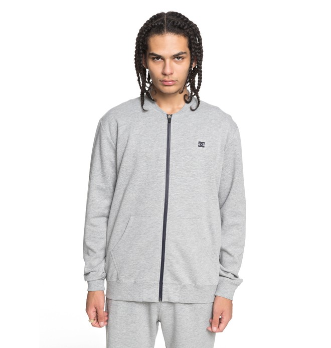 0 Men's Glenties Zip Up Sweatshirt  EDYFT03359 DC Shoes