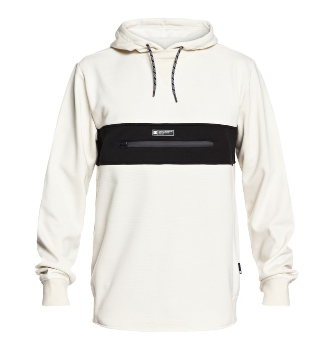 0 Cloak Technical Hoodie White EDYFT03364 DC Shoes
