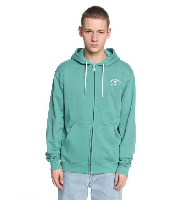 0 Rebel - Zip-Up Hoodie for Men Green EDYFT03369 DC Shoes