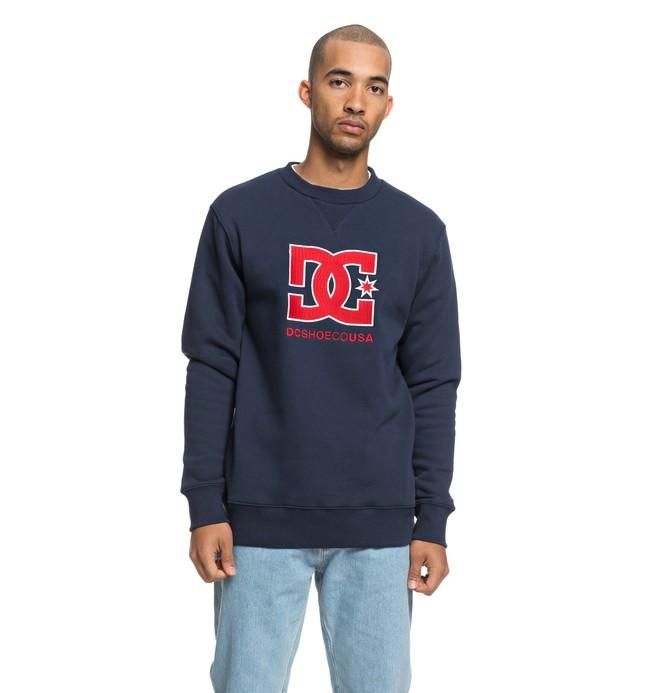 0 Glenridge - Sweatshirt pour Homme Bleu EDYFT03386 DC Shoes
