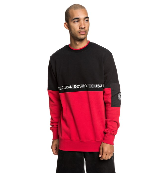 0 Simmons Sweatshirt Black EDYFT03419 DC Shoes