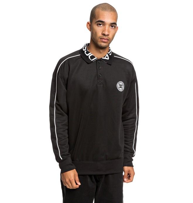 0 Springhill - Polo Sweatshirt for Men Black EDYFT03420 DC Shoes