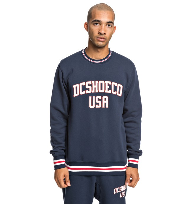 0 Glenridge - Sweat pour Homme Bleu EDYFT03427 DC Shoes