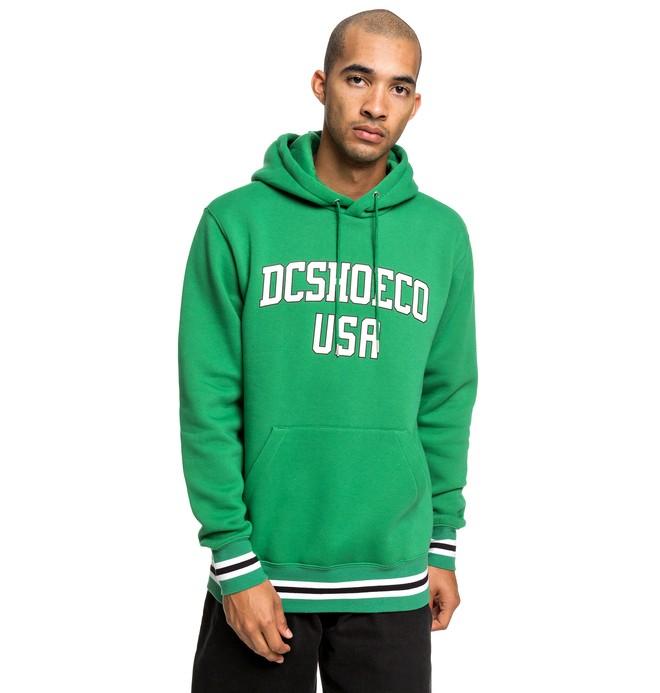 0 Glenridge - Hoodie for Men Green EDYFT03428 DC Shoes