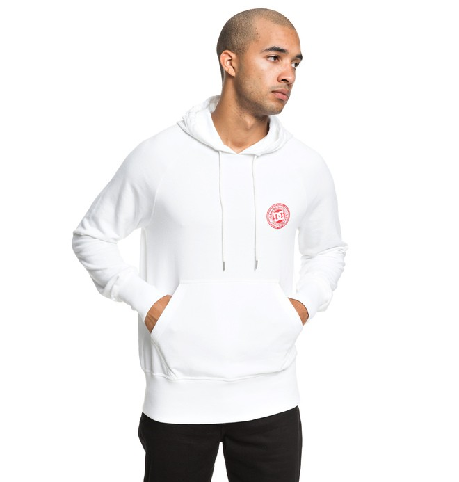 0 Belham - Hoodie for Men White EDYFT03432 DC Shoes