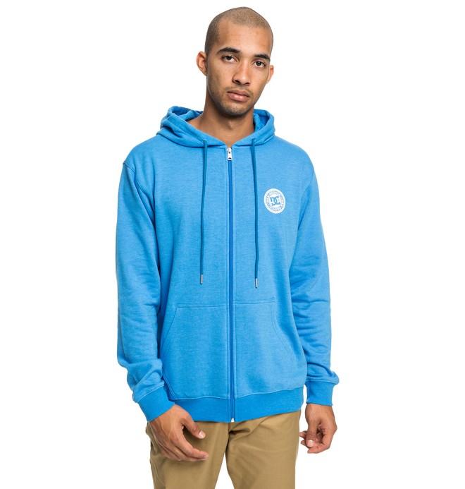 0 Rebel - Zip-Up Hoodie for Men Blue EDYFT03434 DC Shoes