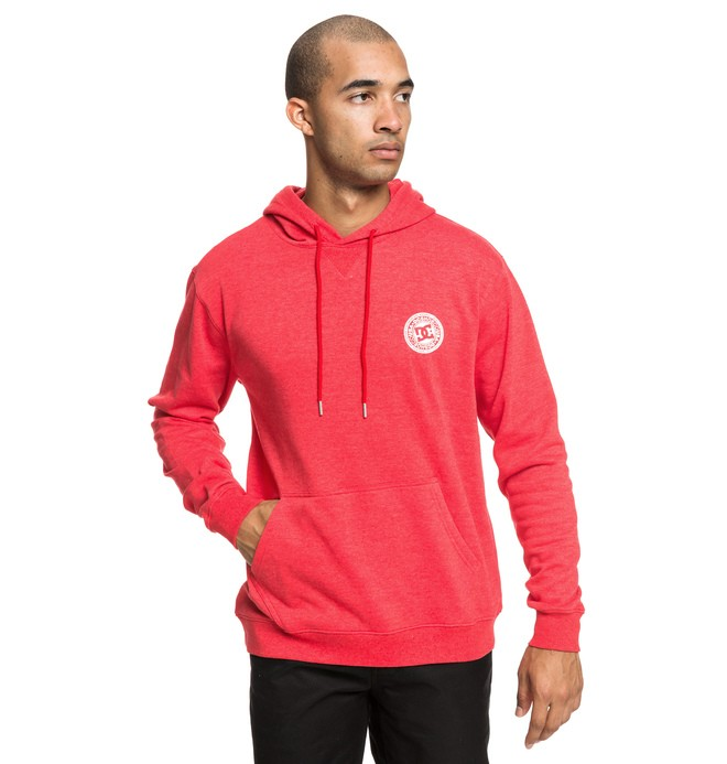 0 Rebel Hoodie Red EDYFT03435 DC Shoes