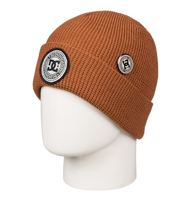 0 Neesh - Beanie met zoom Brown EDYHA03055 DC Shoes
