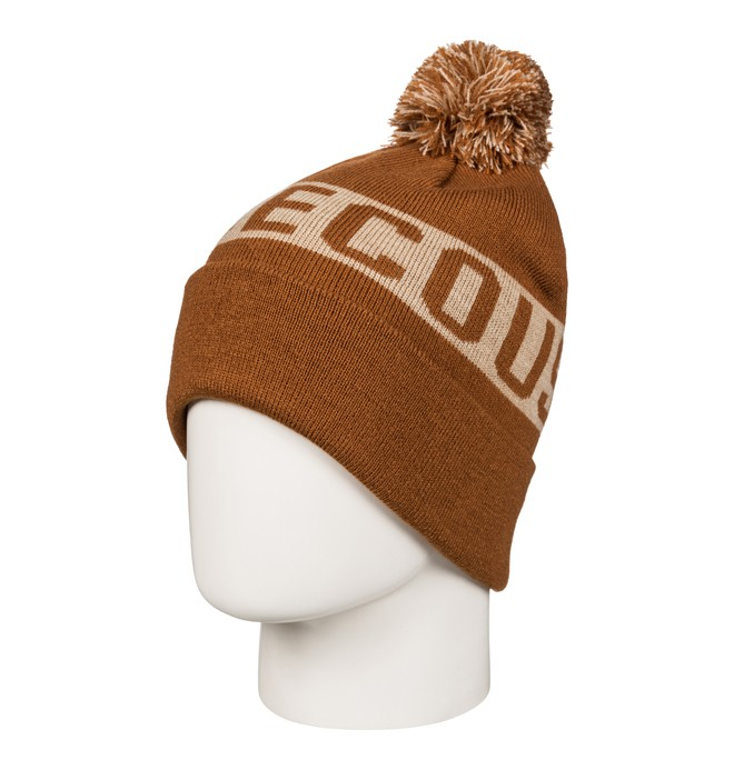 0 Chester - Bobble Hat Brown EDYHA03057 DC Shoes