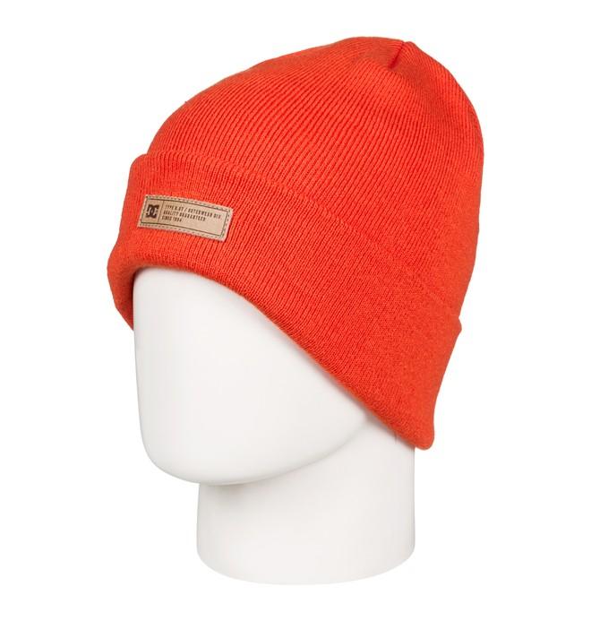 0 Label Beanie Orange EDYHA03076 DC Shoes