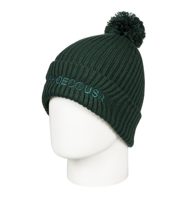 0 Trilogy 2 Pom-Pom Beanie Green EDYHA03078 DC Shoes