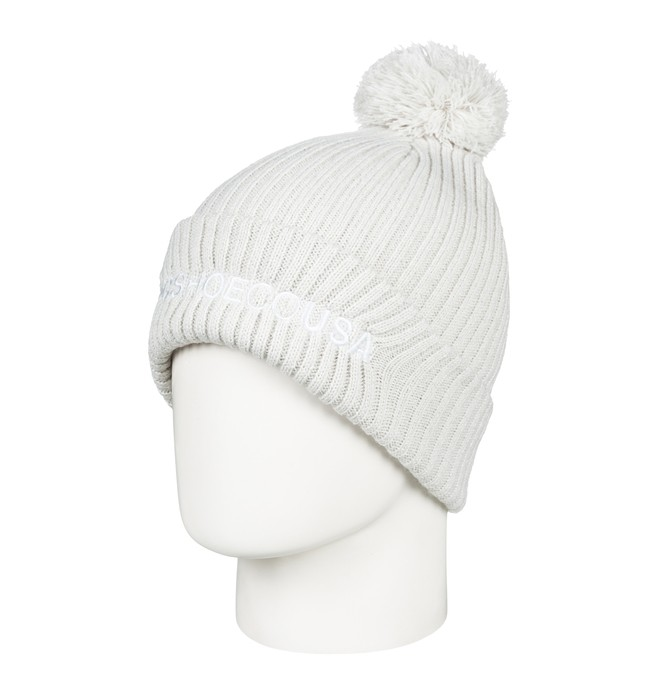0 Trilogy 2 Pom-Pom Beanie White EDYHA03078 DC Shoes