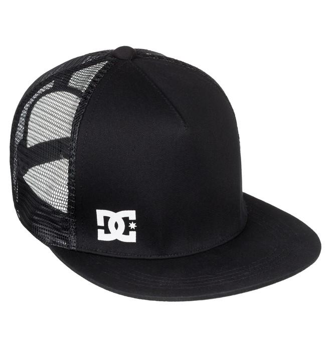 0 Star logo - Casquette Trucker pour Homme Noir EDYHA03089 DC Shoes
