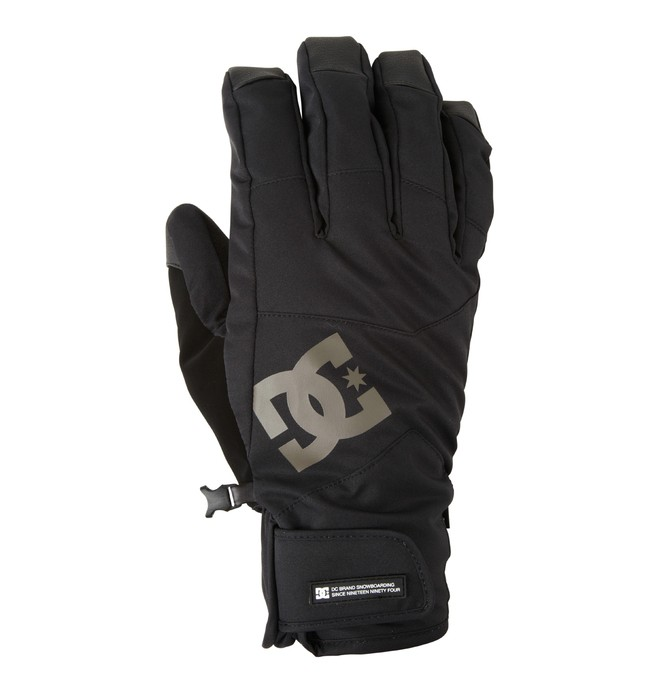 0 Men's Seger Snowboard Gloves  EDYHN00020 DC Shoes