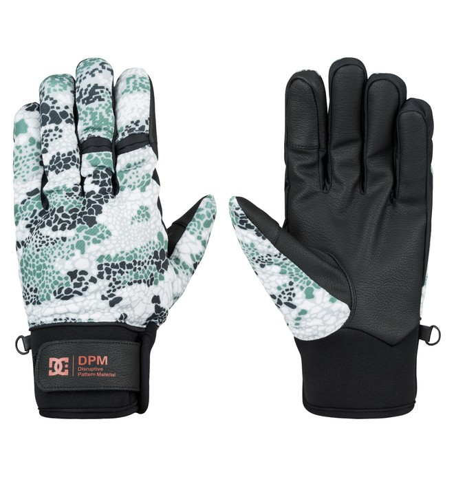 0 Men's Radian DPM Gloves  EDYHN03010 DC Shoes