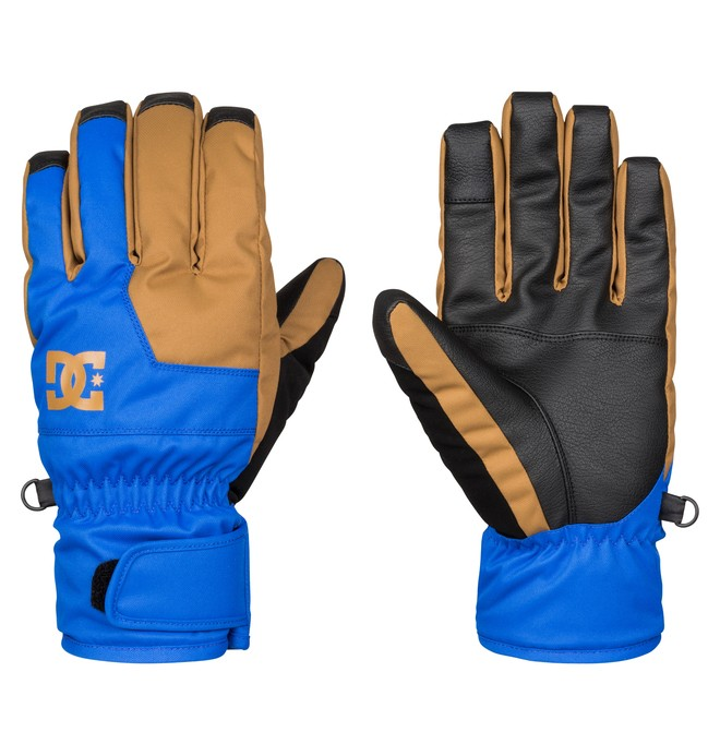 0 Men's Seger Snow Gloves  EDYHN03017 DC Shoes