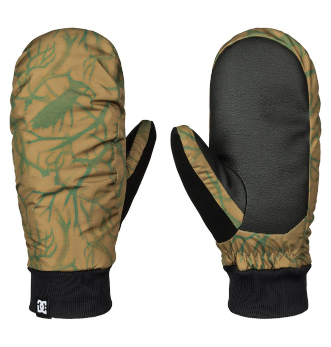 0 Men's Flag Snow Mittens  EDYHN03019 DC Shoes
