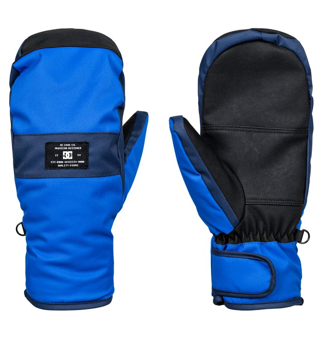0 Franchise - Snowboard/Ski Mittens Blue EDYHN03023 DC Shoes