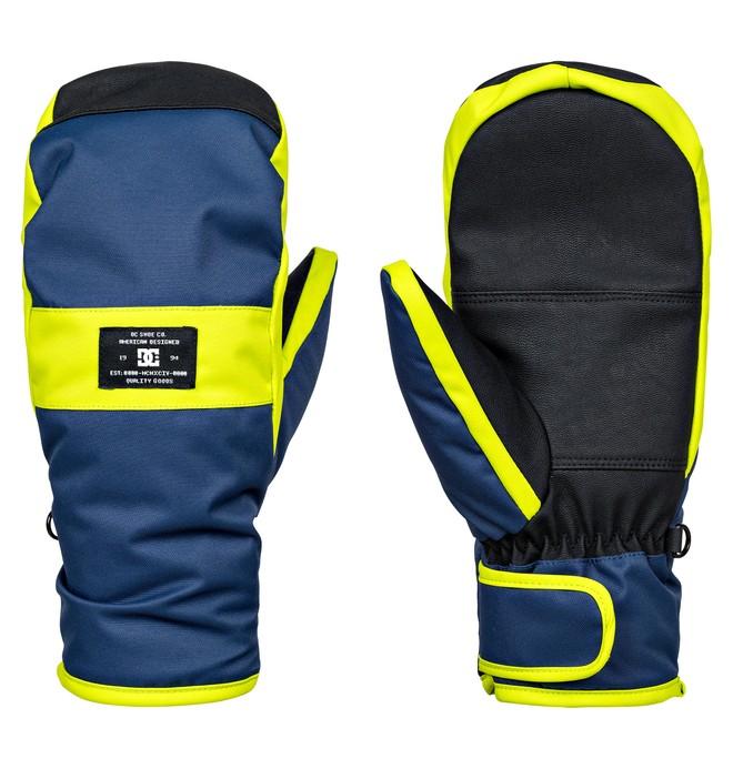 0 Franchise - Moufles de snowboard/ski pour Homme Bleu EDYHN03023 DC Shoes