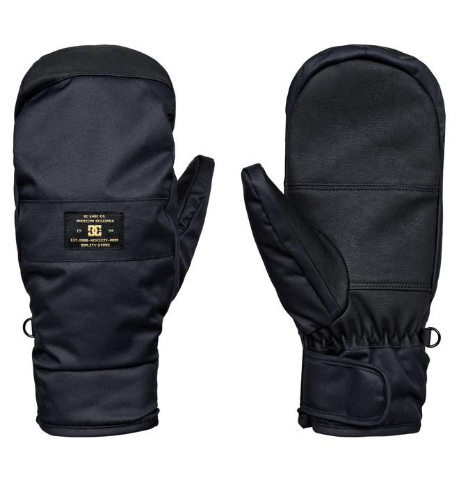 0 Franchise - Snowboard/Ski Mittens Black EDYHN03023 DC Shoes