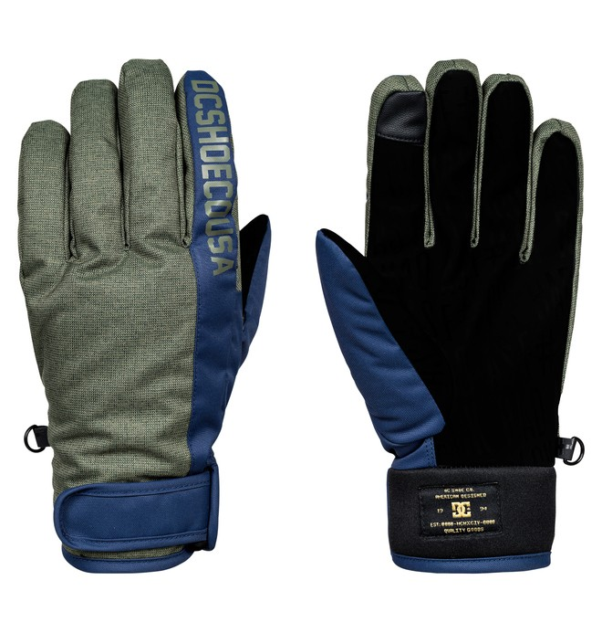 0 Deadeye - Gants de snowboard/ski Vert EDYHN03027 DC Shoes