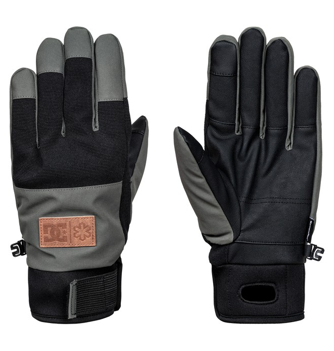 0 Men's Cold War Snow Gloves  EDYHN03029 DC Shoes