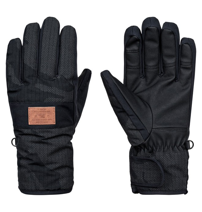 0 Franchise SE - Snowboard/Ski Gloves Black EDYHN03032 DC Shoes