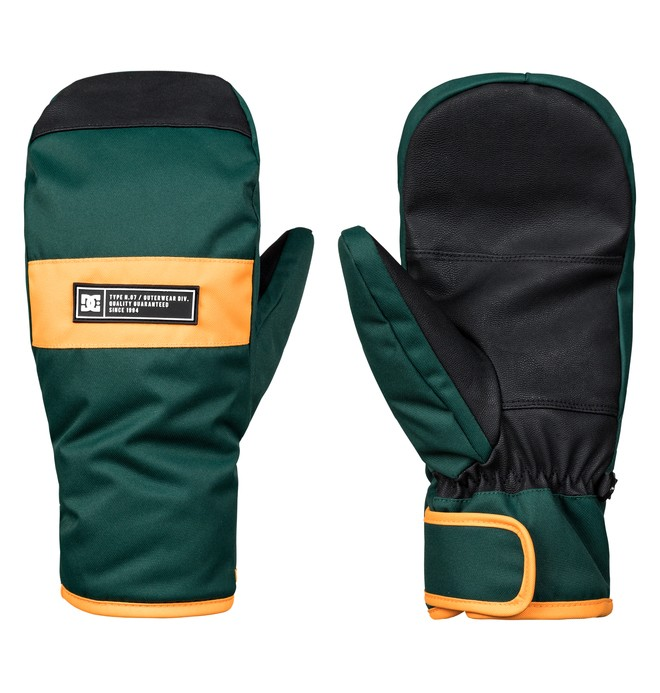 0 Franchise - Moufles de ski/snowboard pour Homme Vert EDYHN03035 DC Shoes