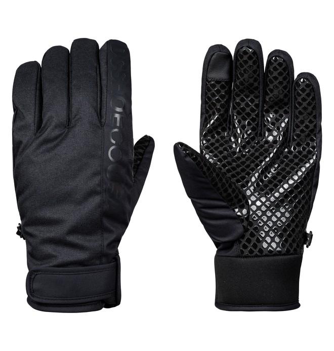 0 Deadeye Snowboard/Ski Gloves Black EDYHN03037 DC Shoes