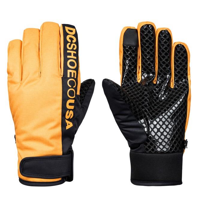 0 Deadeye Snowboard/Ski Gloves Yellow EDYHN03037 DC Shoes