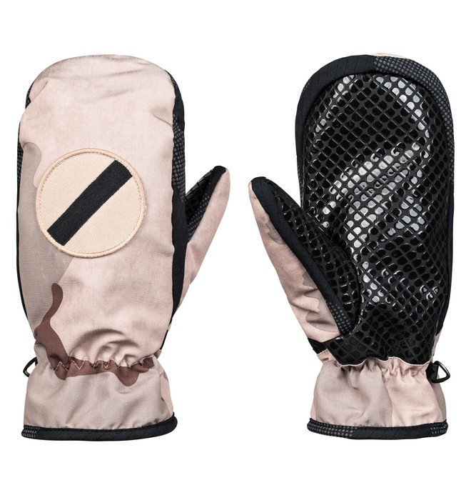 0 Shelter Snowboard/Ski Mittens Brown EDYHN03038 DC Shoes