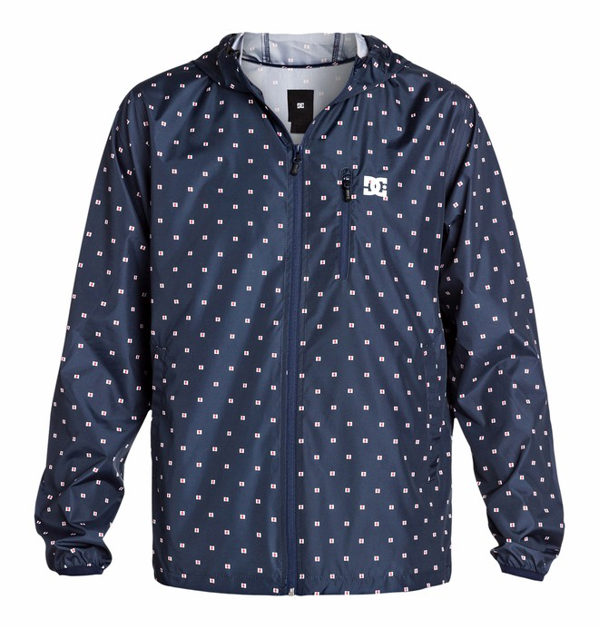 0 Men's Dagup Print Windbreaker  EDYJK03025 DC Shoes