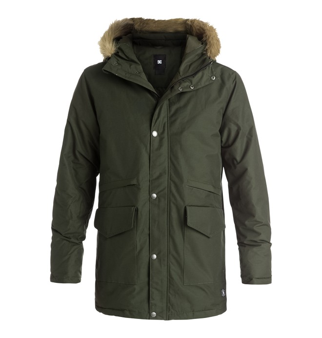 0 Bamburgh - Parka  EDYJK03077 DC Shoes