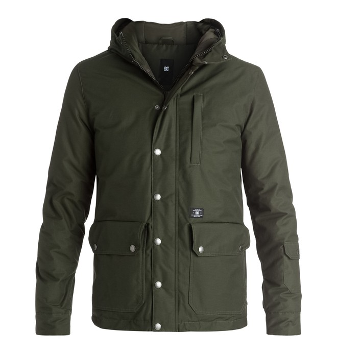 0 Gibside - Anorak  EDYJK03083 DC Shoes