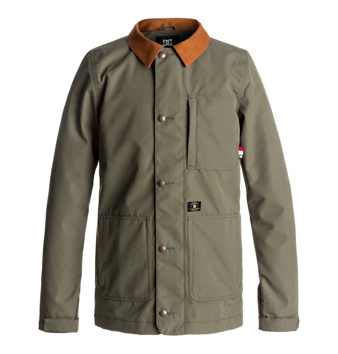 0 Operative - Giacca camicia tecnica da tavola Green EDYJK03118 DC Shoes