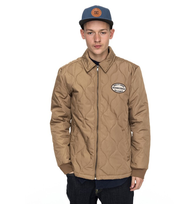 0 Mossburn Quilted Coach Jacket  EDYJK03129 DC Shoes