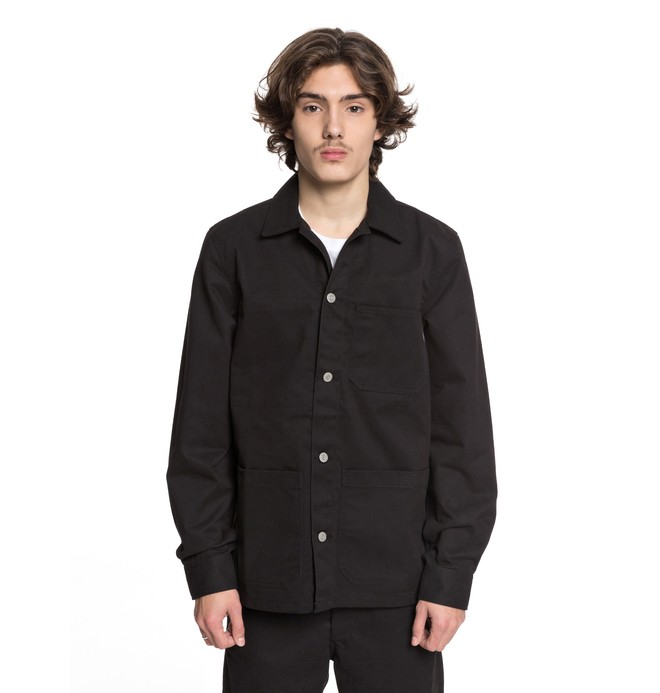 0 Ted Set Chore Coat Black EDYJK03154 DC Shoes
