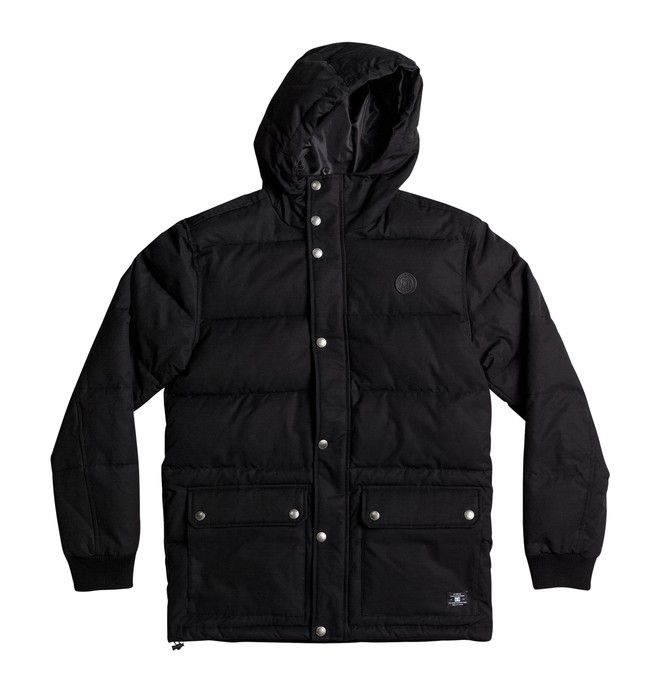 0 Men's Aydon Hooded Puffer Jacket  EDYJK03163 DC Shoes