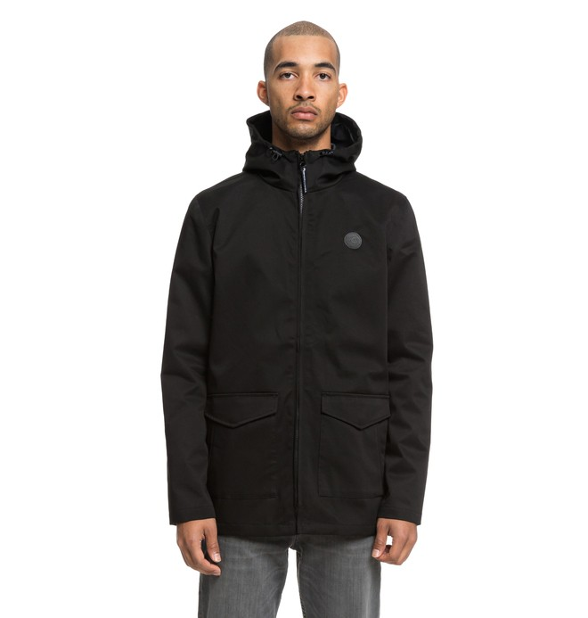 0 Exford Water Resistant Field Jacket Black EDYJK03168 DC Shoes