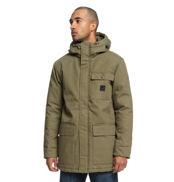 0 Canongate 2 - Water Resistant Workwear Parka  EDYJK03173 DC Shoes