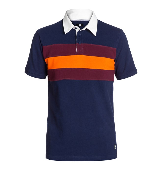 0 Men's Pumped Up Polo  EDYKT03015 DC Shoes