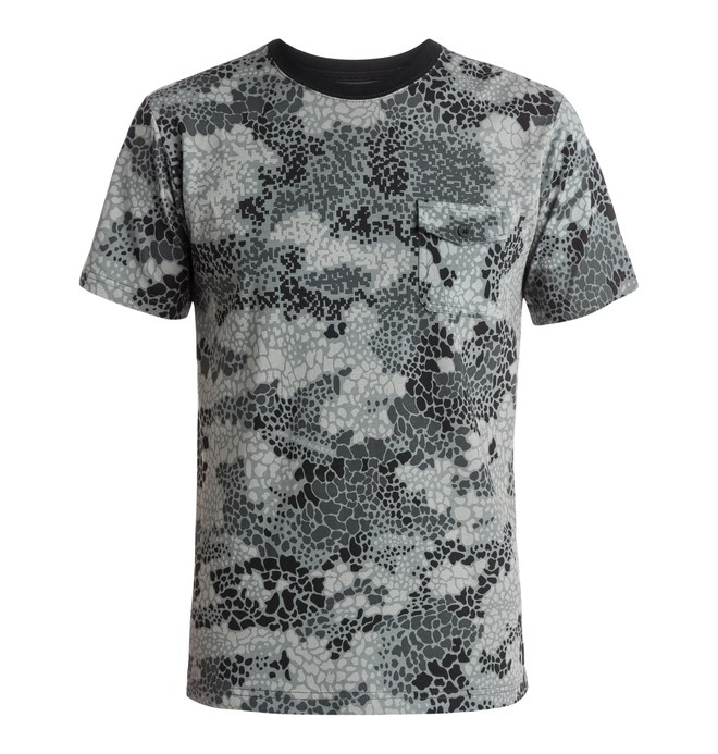 0 Men's Lawndale Camo Tee  EDYKT03172 DC Shoes