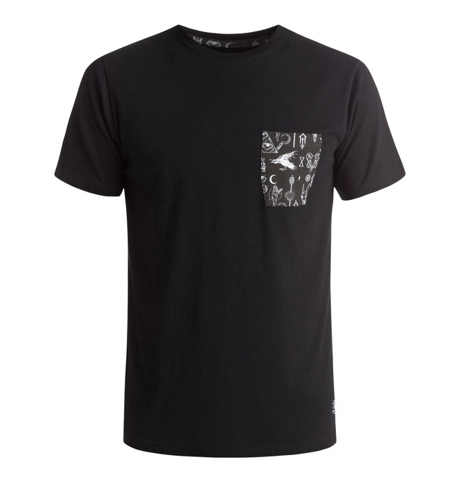 0 Men's Occult Pocket Tee  EDYKT03218 DC Shoes