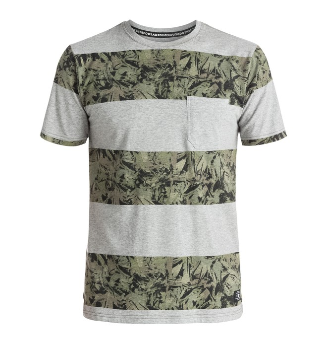 0 Ravencrest Stripes - Tee-Shirt à poche  EDYKT03235 DC Shoes
