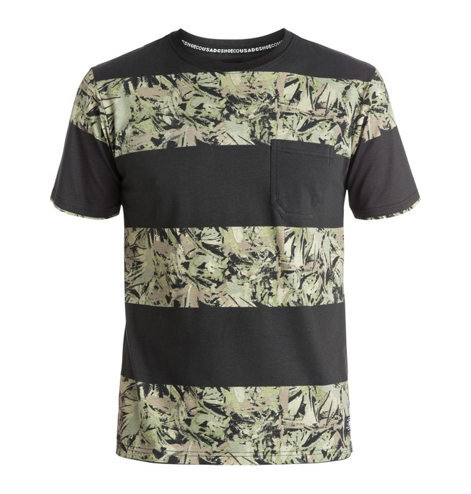 0 Ravencrest Stripes - Camiseta con Bolsillo  EDYKT03235 DC Shoes