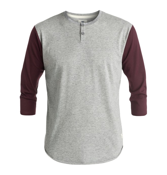 0 Men's Basic DC 3/4 Sleeve Tee  EDYKT03270 DC Shoes